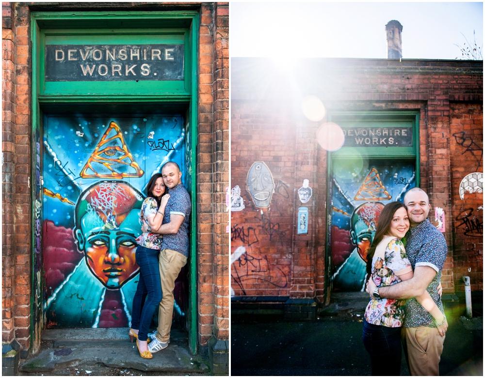 Lisa Carpenter Photography, photos, West Midlands, wedding photographer, engagement shoot, Custard Factory