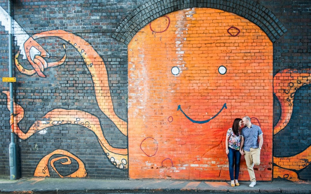 Holly and Brad – Custard Factory Engagement Shoot