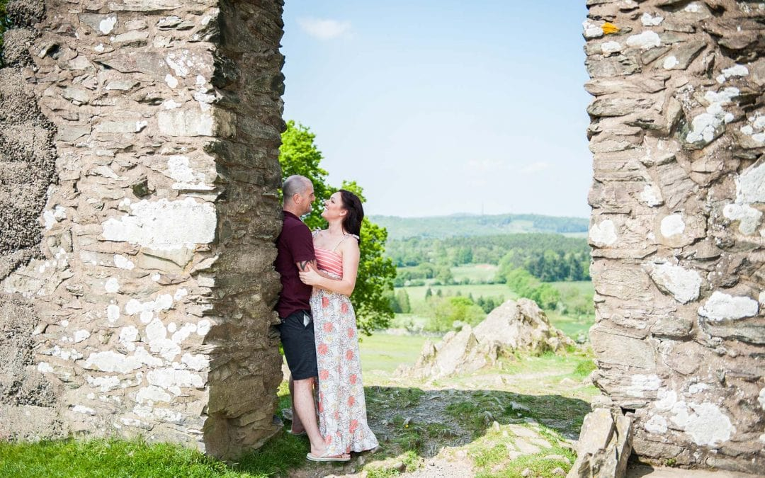 Charlotte and Jason – Engagement Shoot in Bradgate Park
