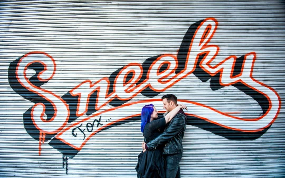 Spig and Jo's Engagement Shoot at The Custard Factory