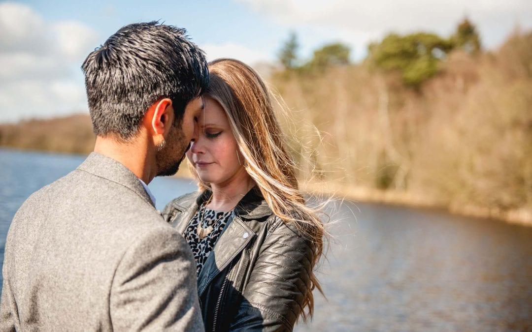 Katie and Pritesh – Sutton Park Engagement Shoot