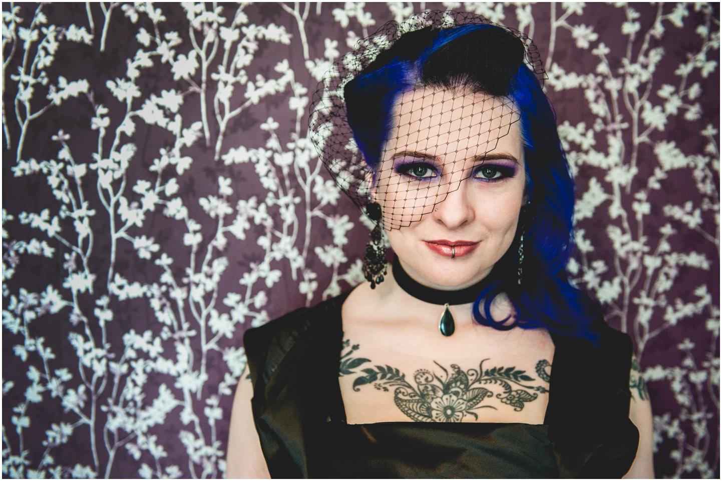 Bond Company Wedding, Digbeth, Lisa Carpenter Photography, Birmingham, goth wedding, alternative wedding, photos
