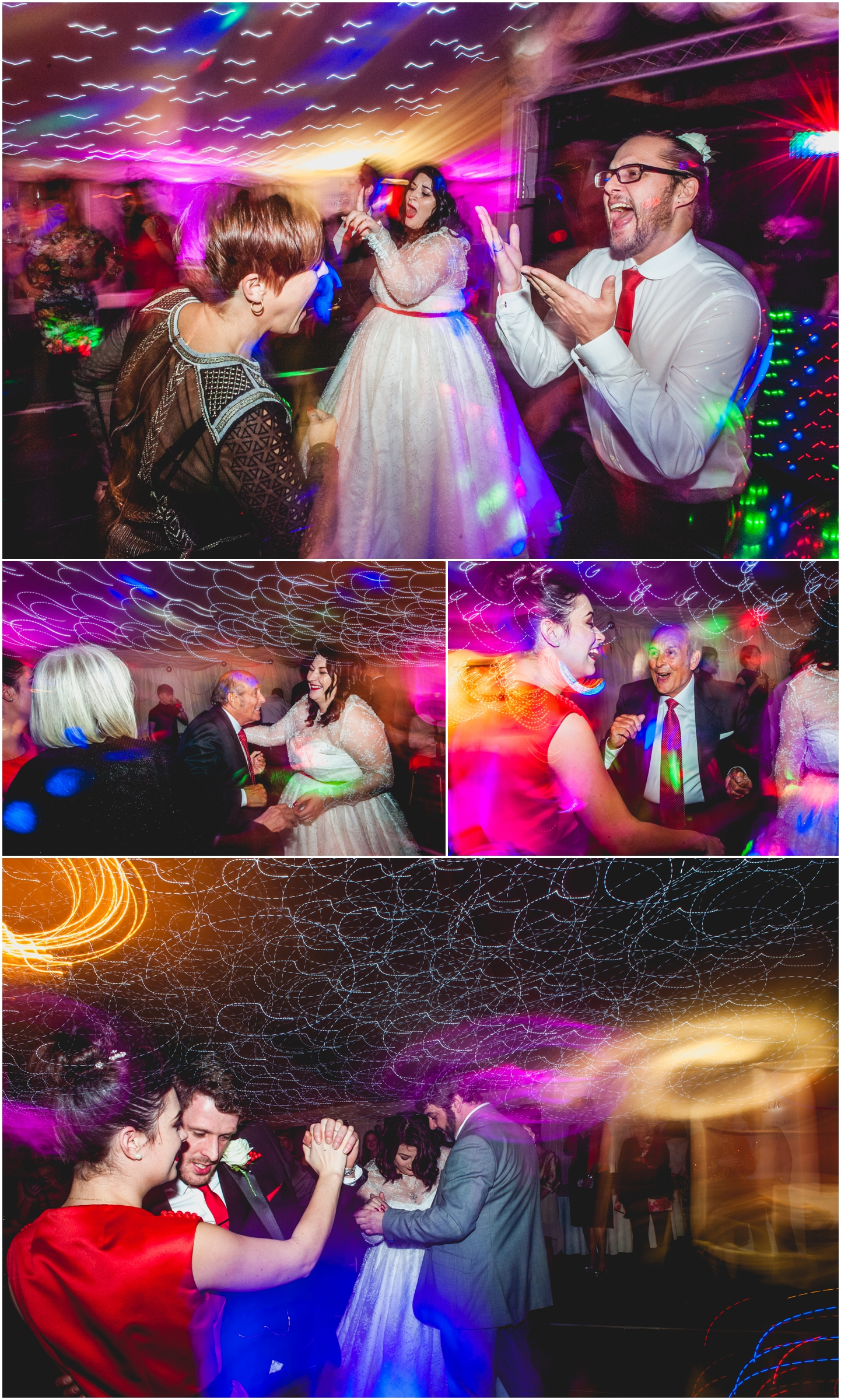 Old School House, Weeford, Winter Wedding Photography at Christmas time by Lisa Carpenter Photos, dancing, reception