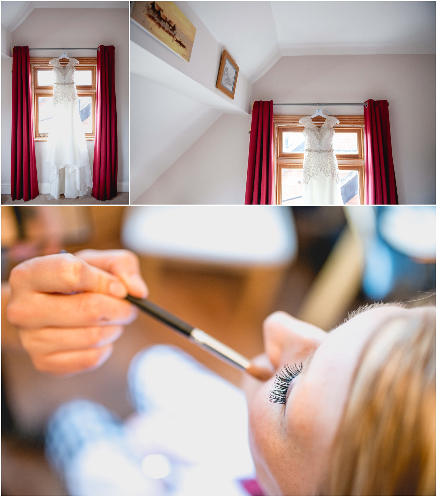 Pendrell Hall Wedding Photography by Lisa Carpenter Photography, West Midlands photographer, dress, bridal preparation