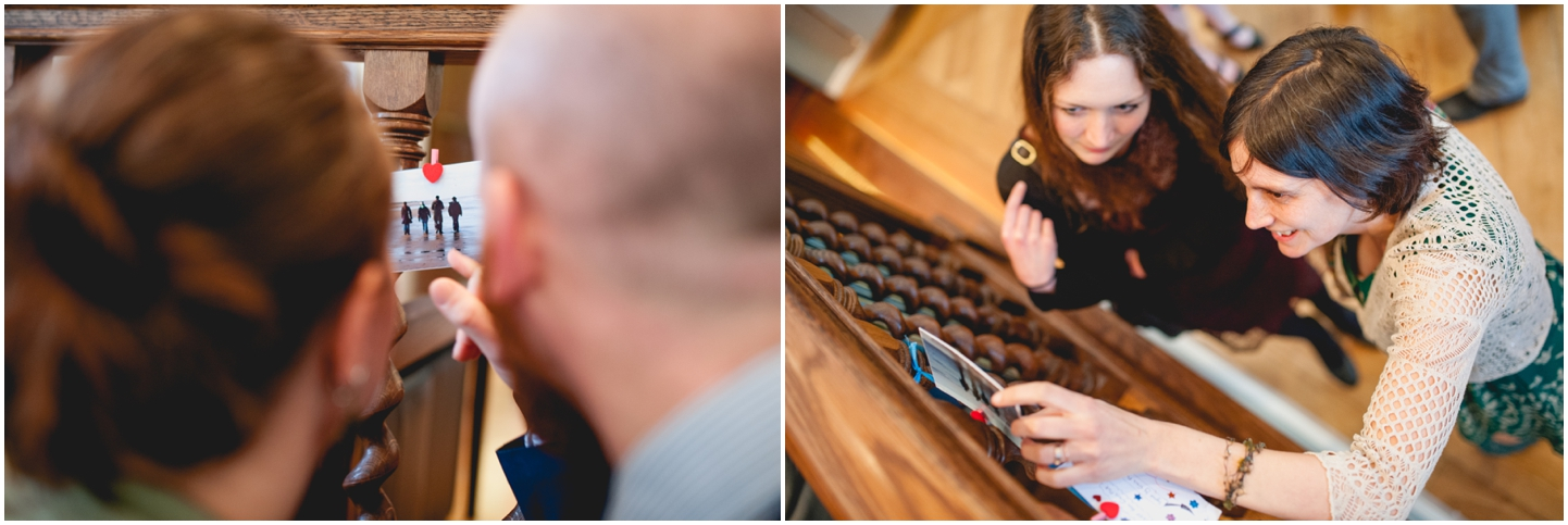 Pendrell Hall Wedding Photography by Lisa Carpenter Photography, West Midlands photographer, postcards, RSVP ideas