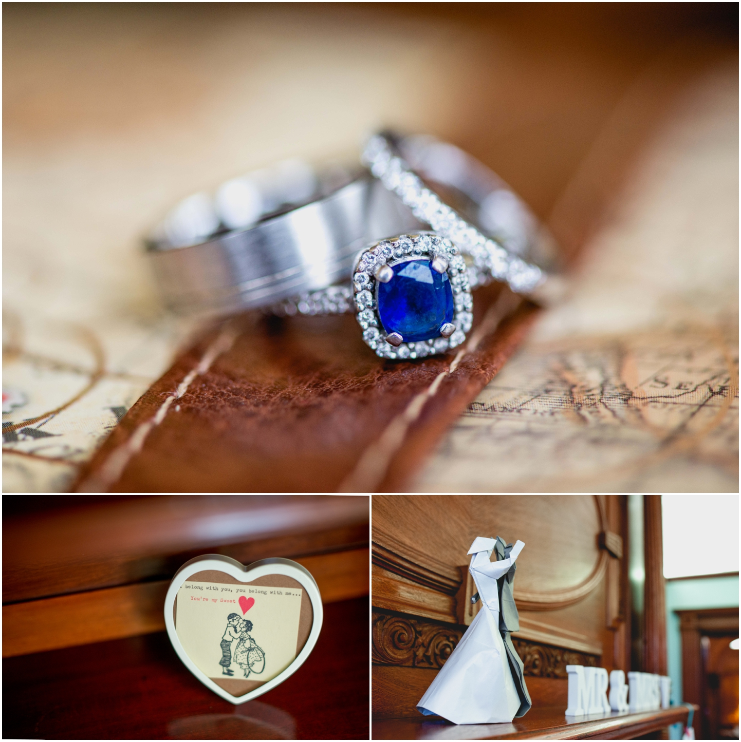 Pendrell Hall Wedding Photography by Lisa Carpenter Photography, West Midlands photographer, rings