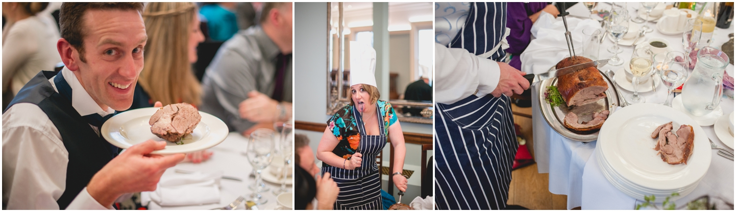 Pendrell Hall Wedding Photography by Lisa Carpenter Photography, West Midlands photographer, carving