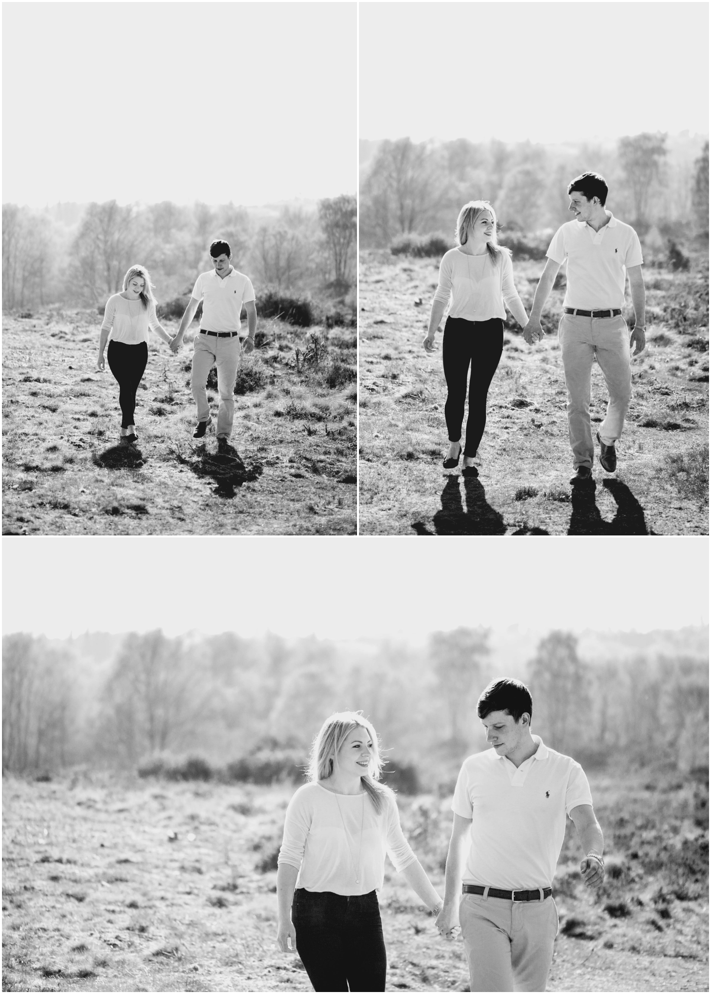 Cara and Maurice Enagement Shoot in Sutton Park by Lisa Carpenter Photography, Birmingham Wedding Photographer