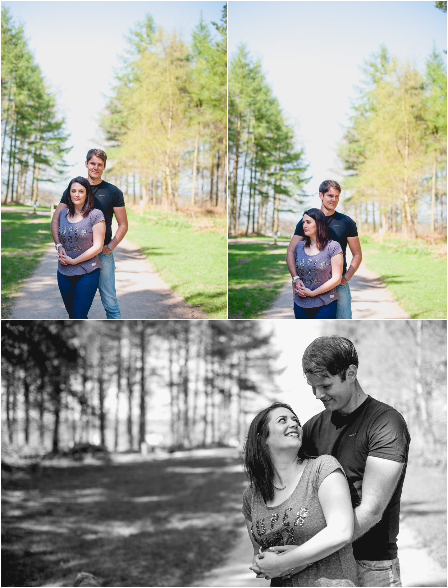 Charlotte and Gareth, Cannock Chase Engagement Shoot, Wedding Photography, Lisa Carpenter Photography, West Midlands