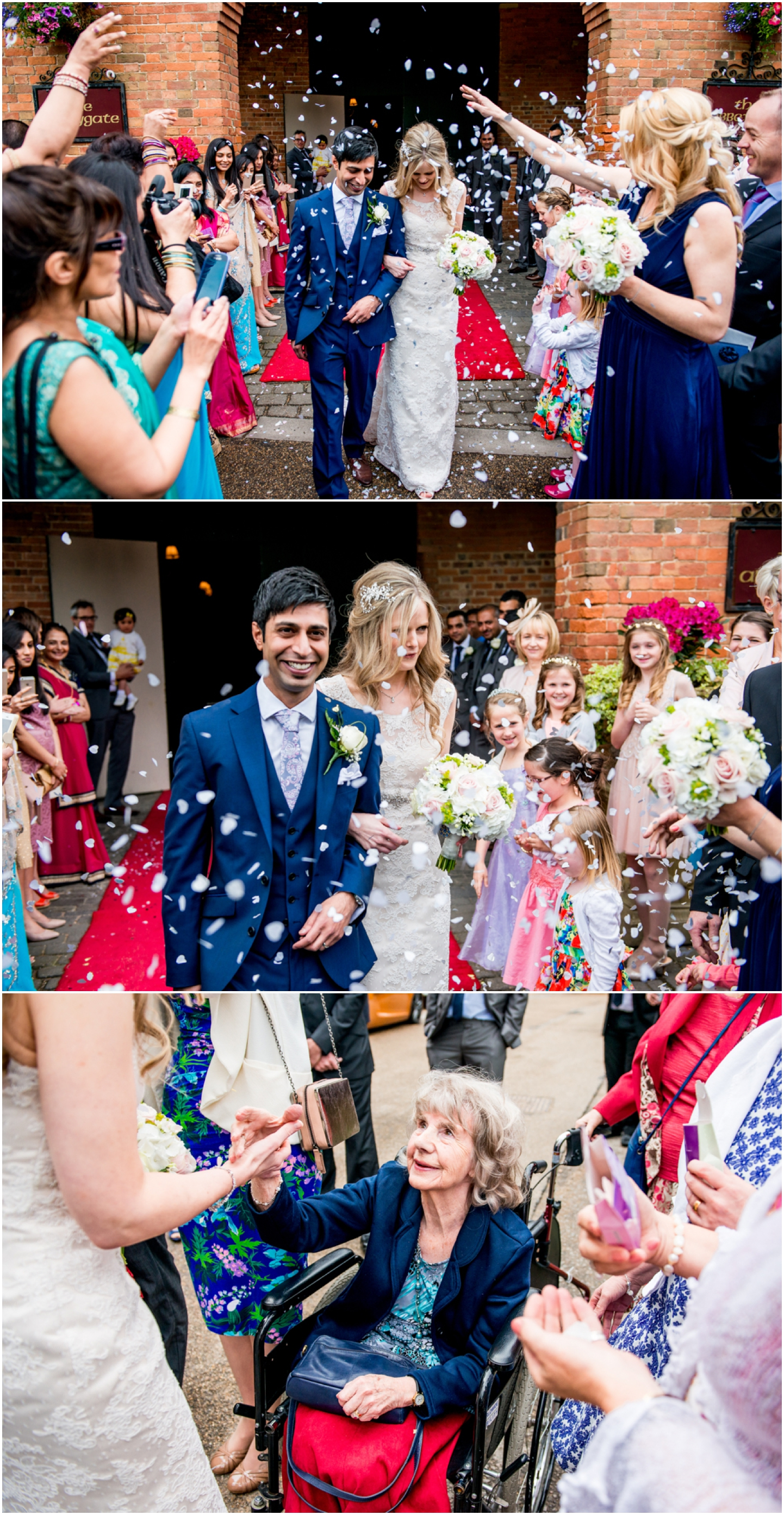 Katie and Pritesh at Coombe Abbey Wedding Venue, beautiful Civil and Hindu ceremony with ivory lace dress and sari by Lisa carpenter Photography, West Midlands and Birmingham based photographer