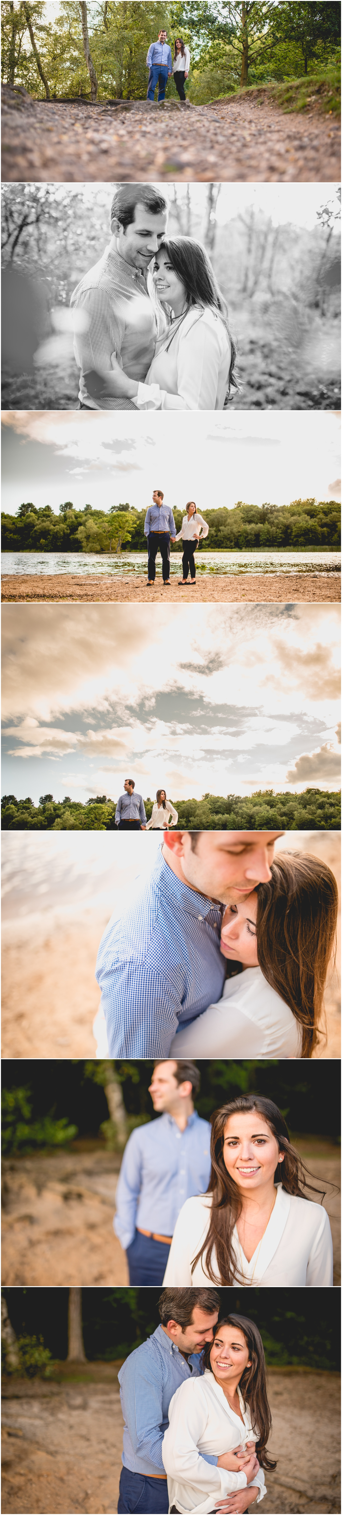 Engagement Shoot at The Boathouse Restaurant in Sutton Park, Sutton Coldfield with photos by Lisa Carpenter Photography, West Midlands and Birmingham based wedding photographer