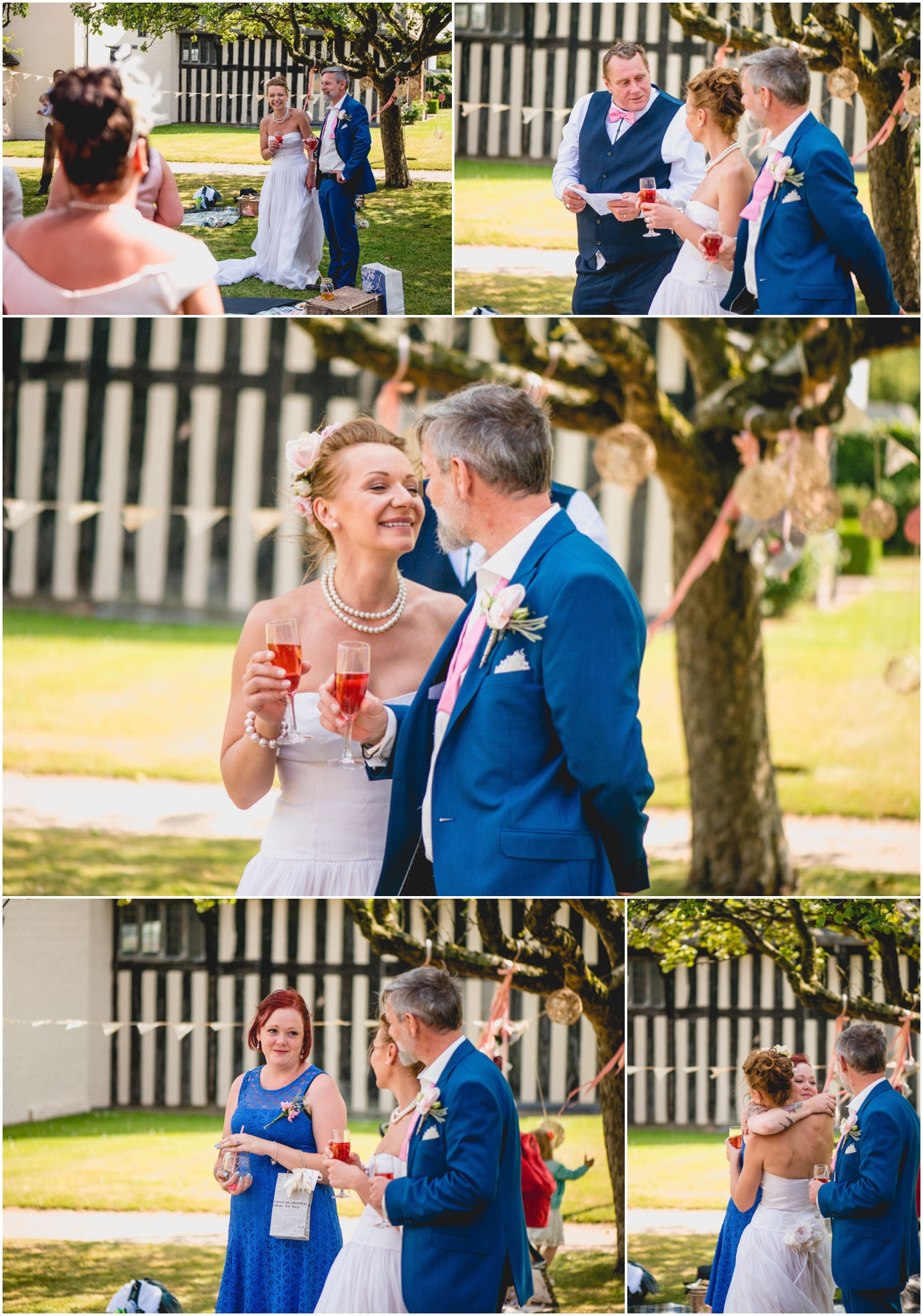 Daniella and Mark Wedding at Blakesley Hall in Birmingham, West Midlands by Lisa Carpenter Photography, Sutton Coldfield based wedding photographer, speeches