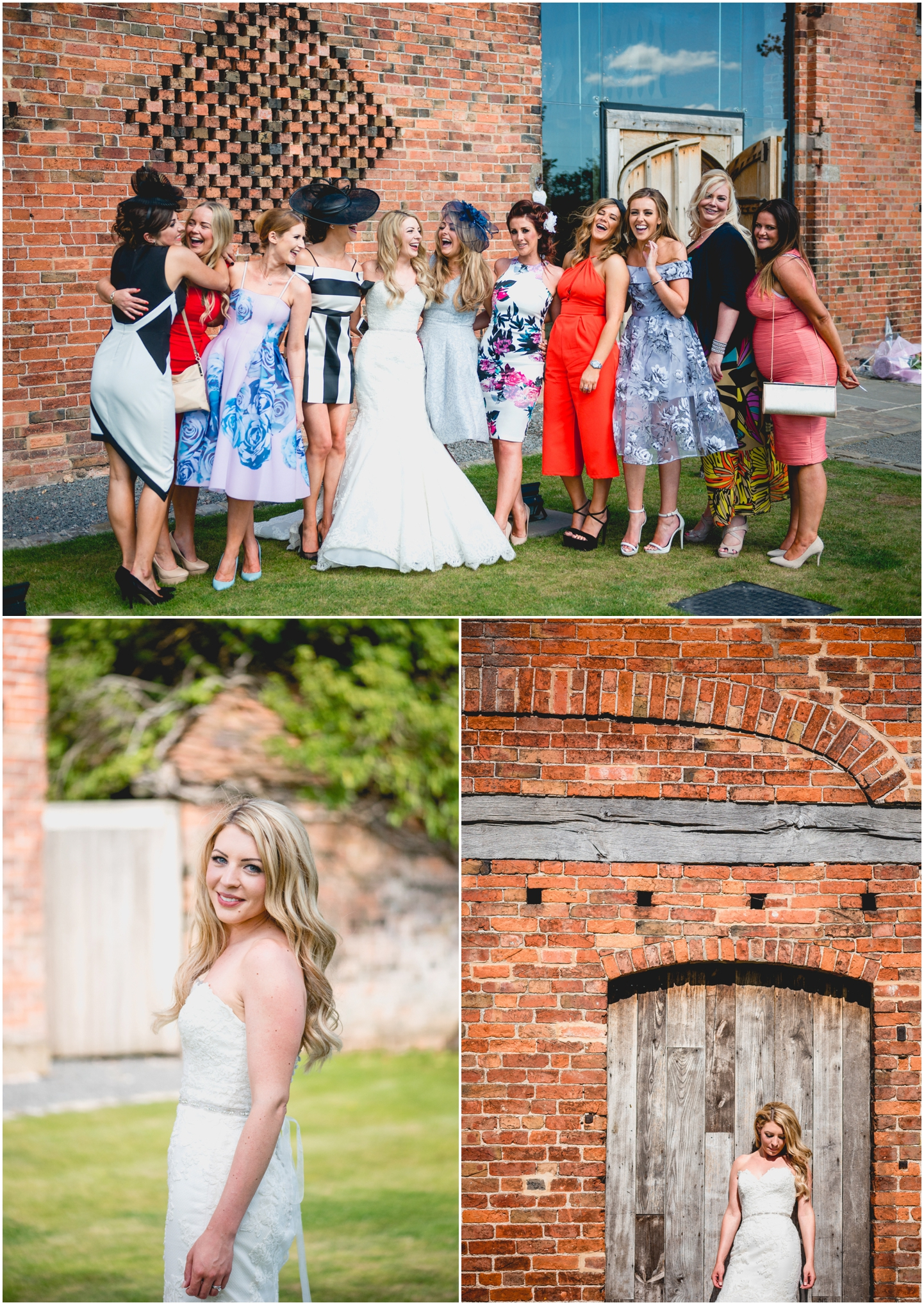 Cara and Maurice at Shustoke Barns, Summer wedding by Lisa Carpenter Photography, Birmingham, West Midlands based wedding photographer