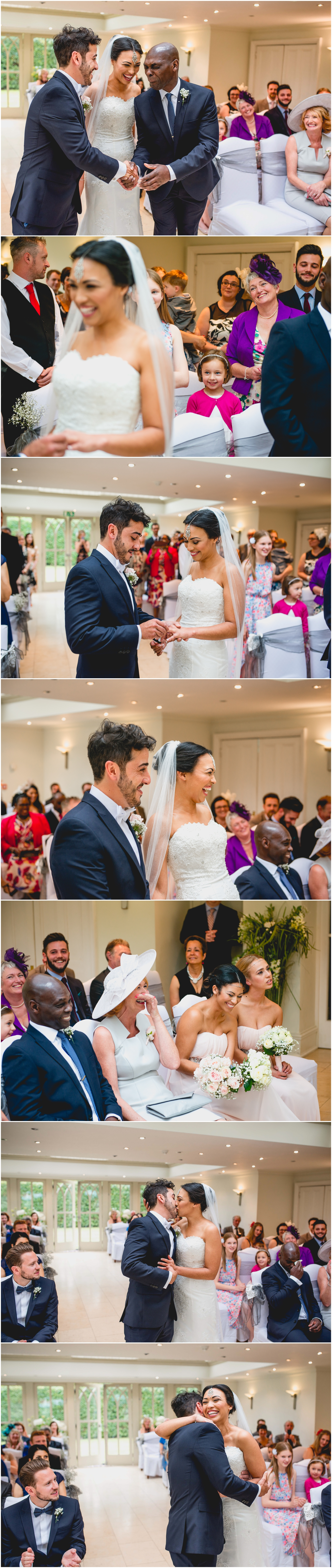 Alice and Nathan's Elegant silver and green themed wedding at The Old Vicarage, Wolverhampton, Wedding photography by Lisa Carpenter Photography, West Midlands based wedding photographer
