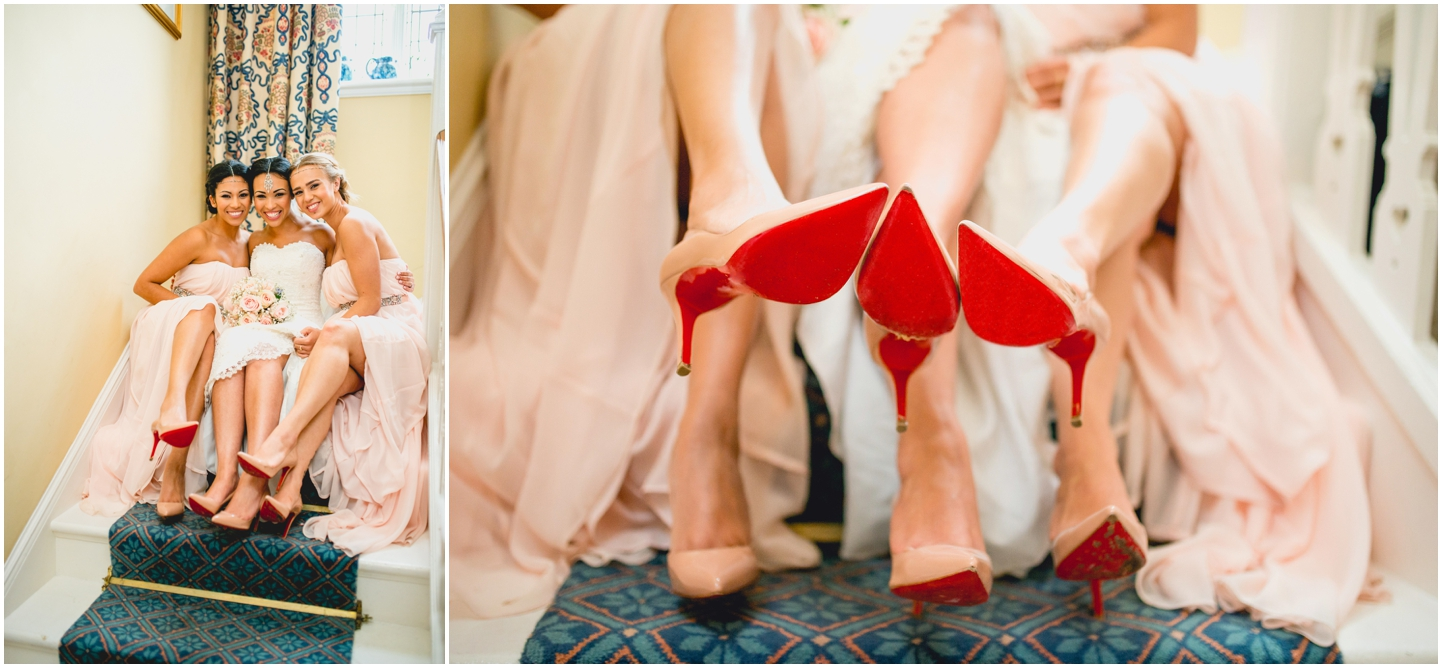 Alice and Nathan's Elegant silver and green themed wedding at The Old Vicarage, Wolverhampton, Wedding photography by Lisa Carpenter Photography, West Midlands based wedding photographer, christian louboutin