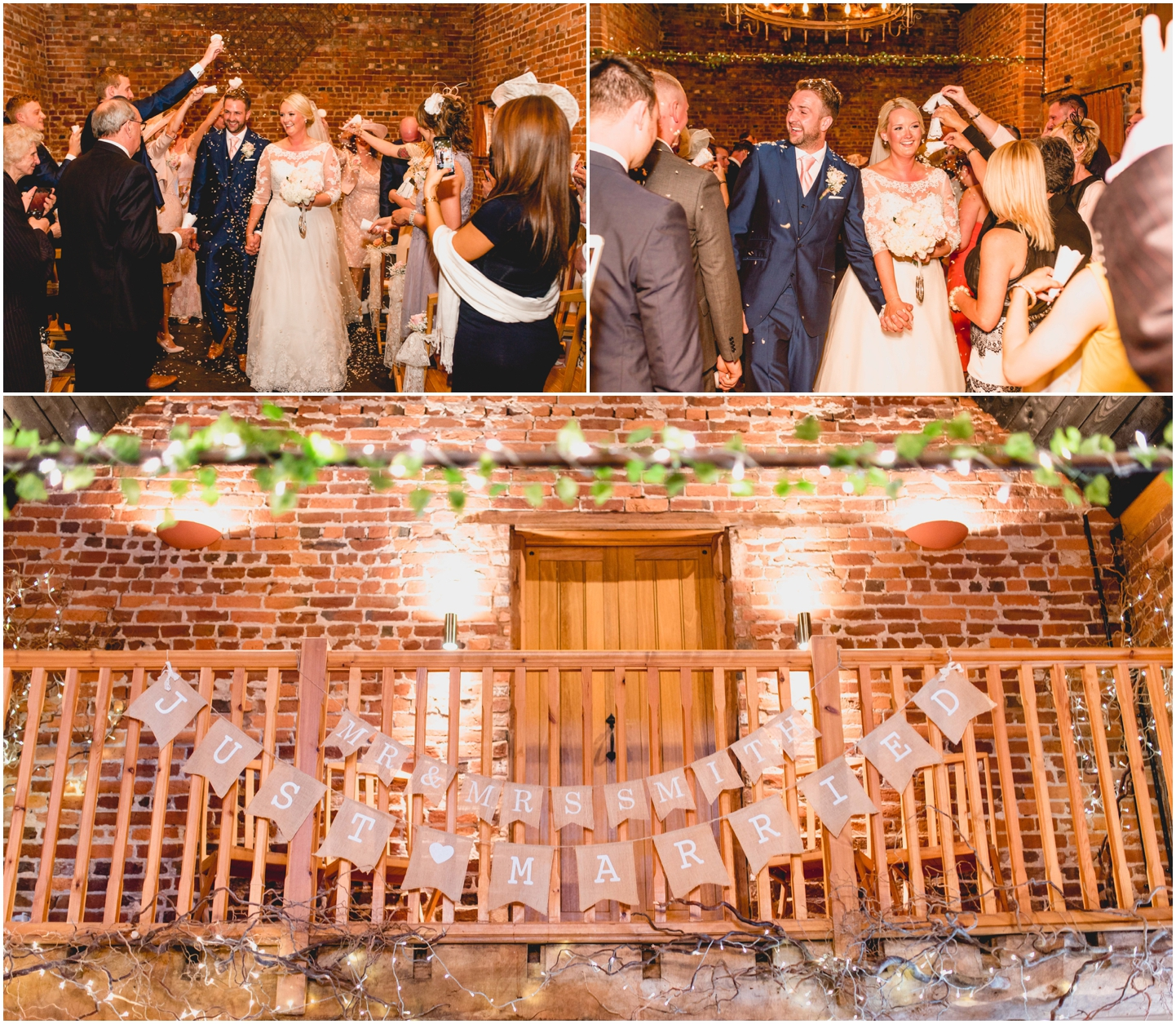 Rebecca And Neils Curradine Barns Wedding