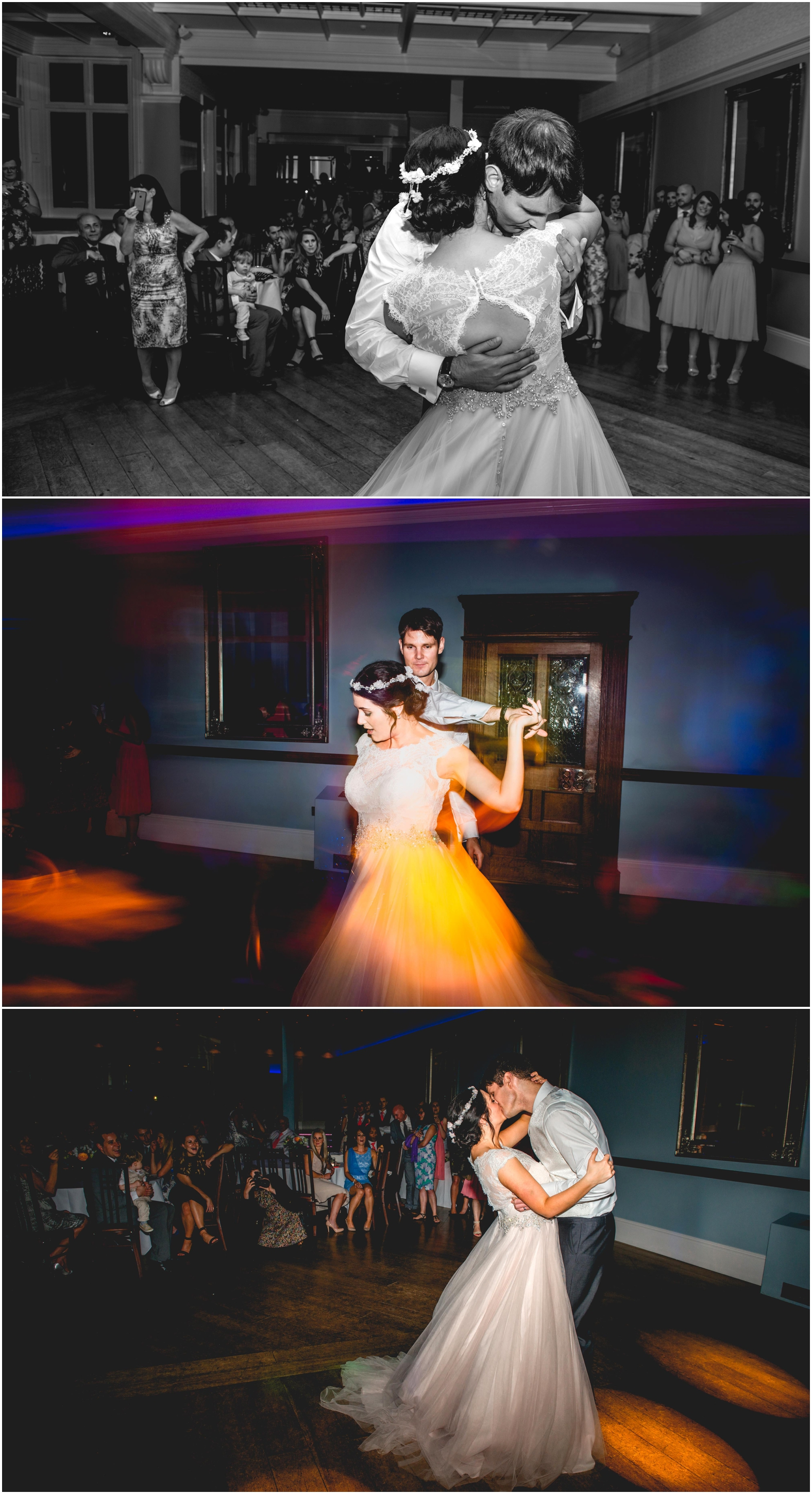 Sage and coral themed modern wedding at Pendrell Hall Wedding Photography by Lisa Carpenter Photography, West Midlands , Birmingham and Sutton Coldfield Wedding Photographer. First dance