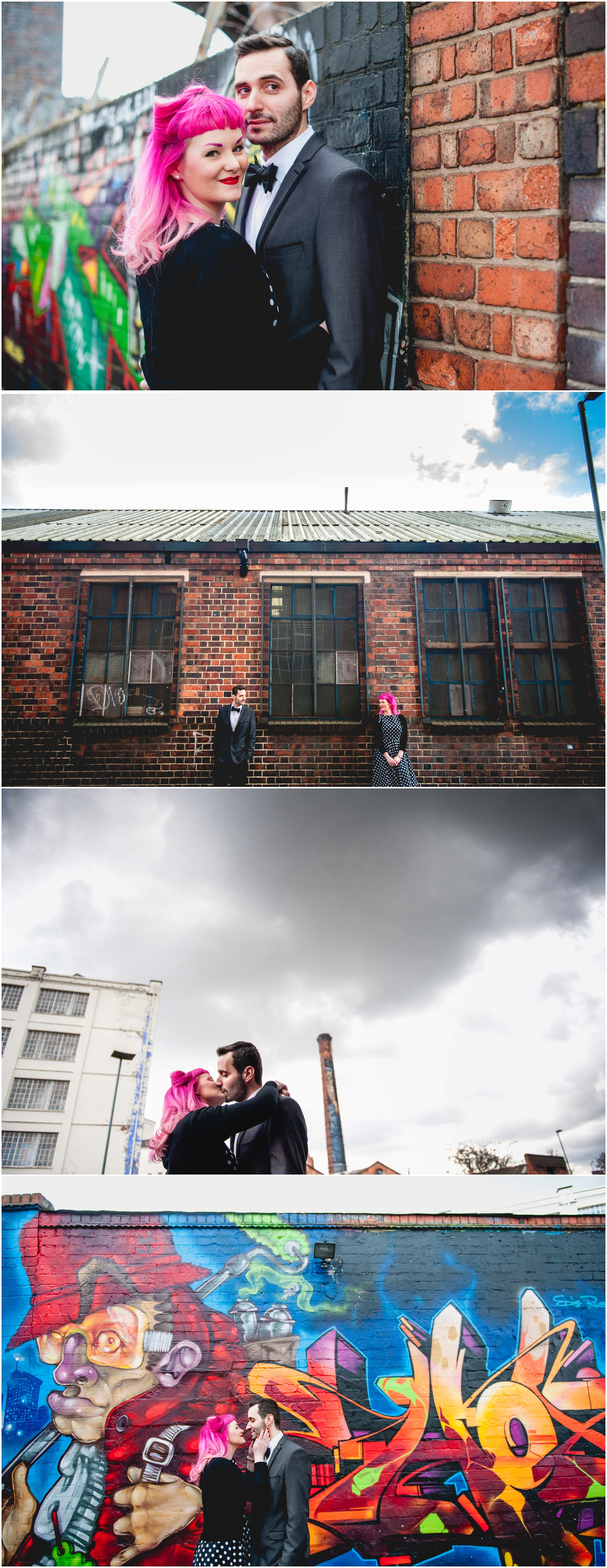 Custard factory Engagement Shoot in Digbeth, photos by Lisa Carpenter Photography, West Midlands Wedding Photographer