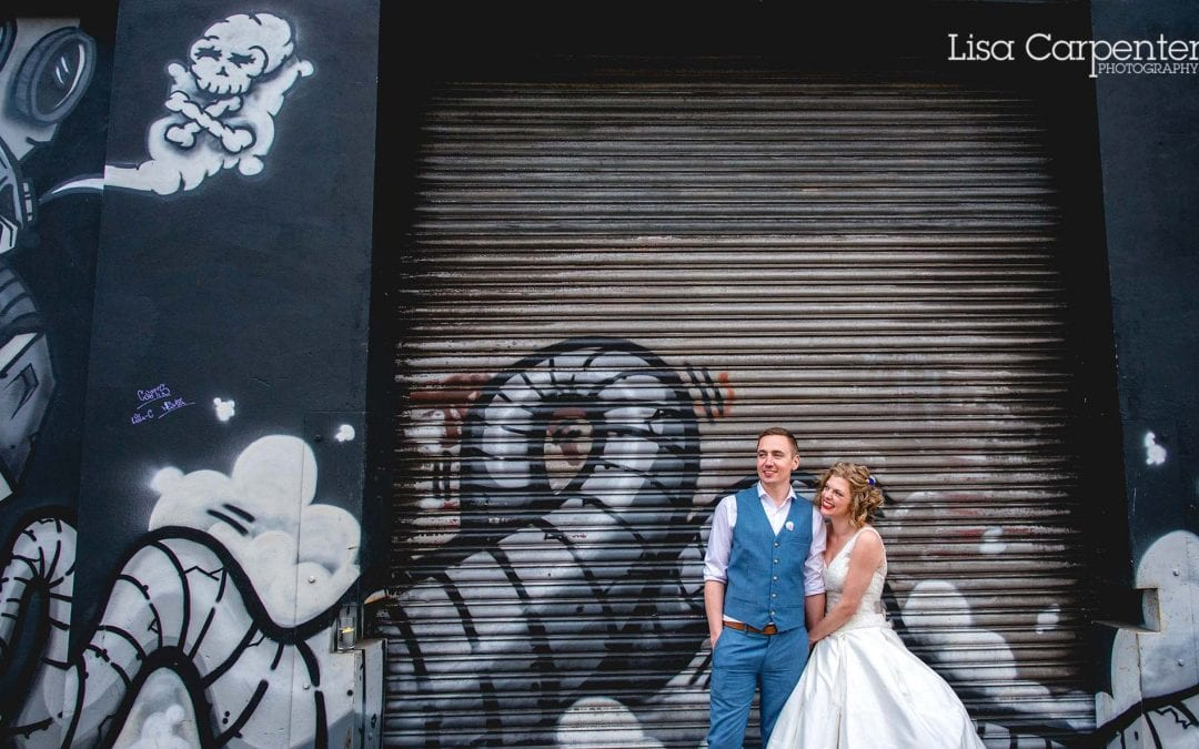 Debra and Matt's Colourful Custard Factory Wedding