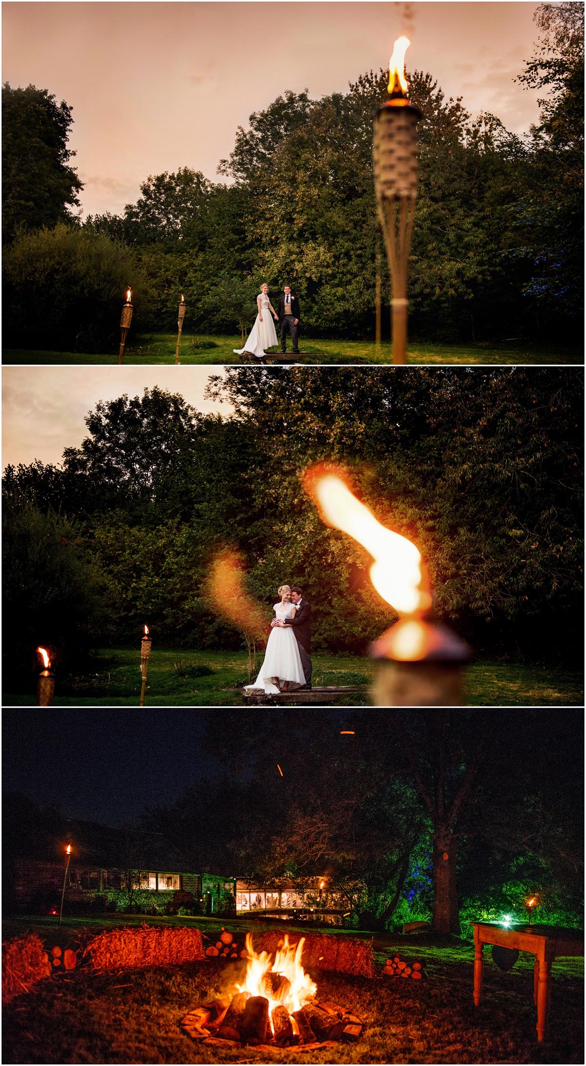 Susie and Ed's Dorset Wedding in Alton Pancras, Dorset, near Cerne Abbas, By Lisa Carpenter Photography, West Midlands, Birmingham based photographer, fire sticks