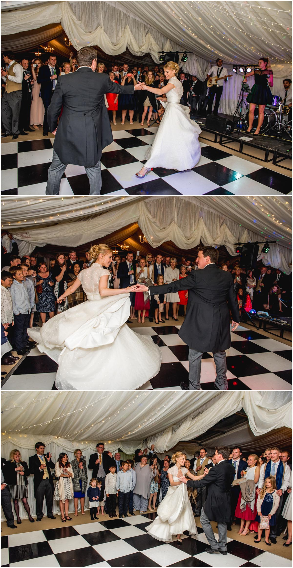 Susie and Ed's Dorset Wedding in Alton Pancras, Dorset, near Cerne Abbas, By Lisa Carpenter Photography, West Midlands, Birmingham based photographer, first dance, choreographed dance