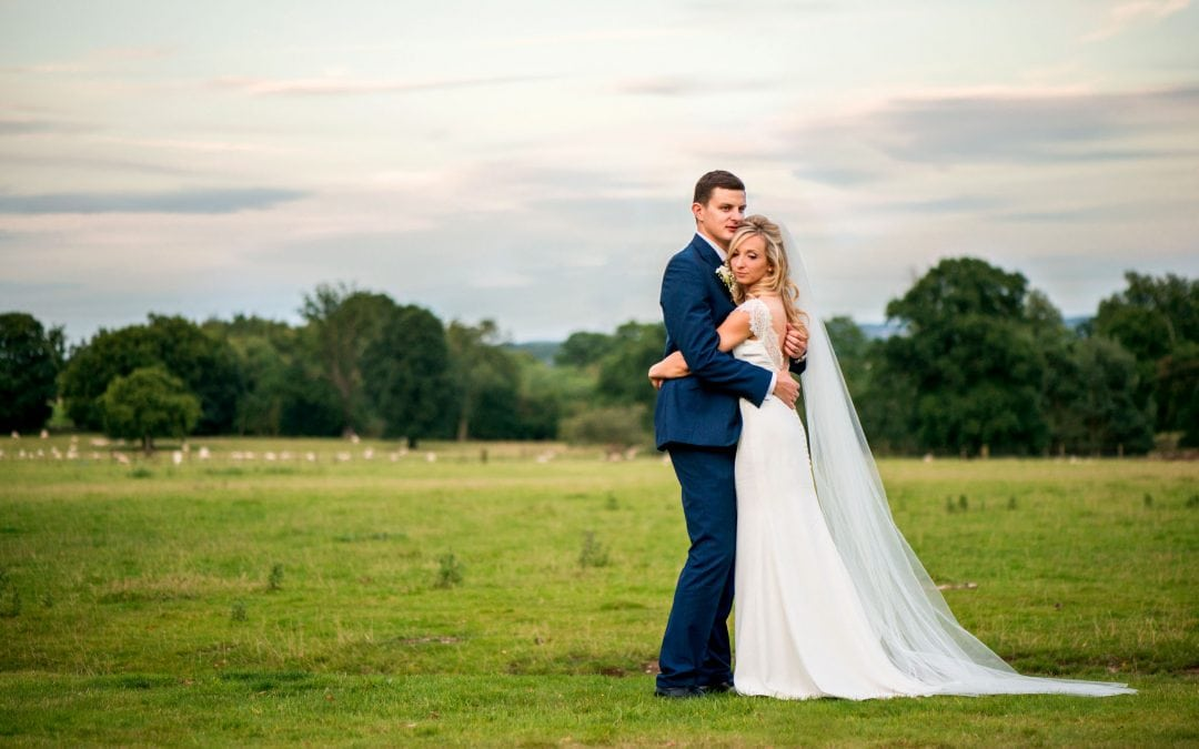 Pendrell Hall Wedding – Helen and Dan's Beautiful in Blue Wedding