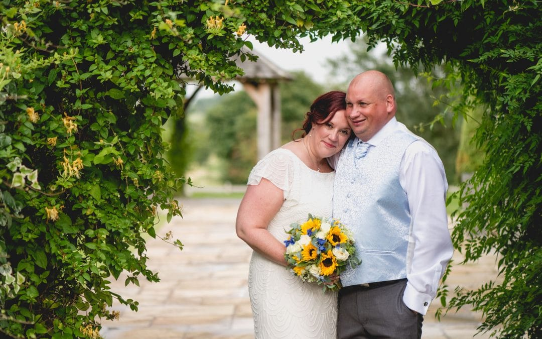 Malc and Lou's Sunflower Wedding at Mythe Barn Wedding Venue