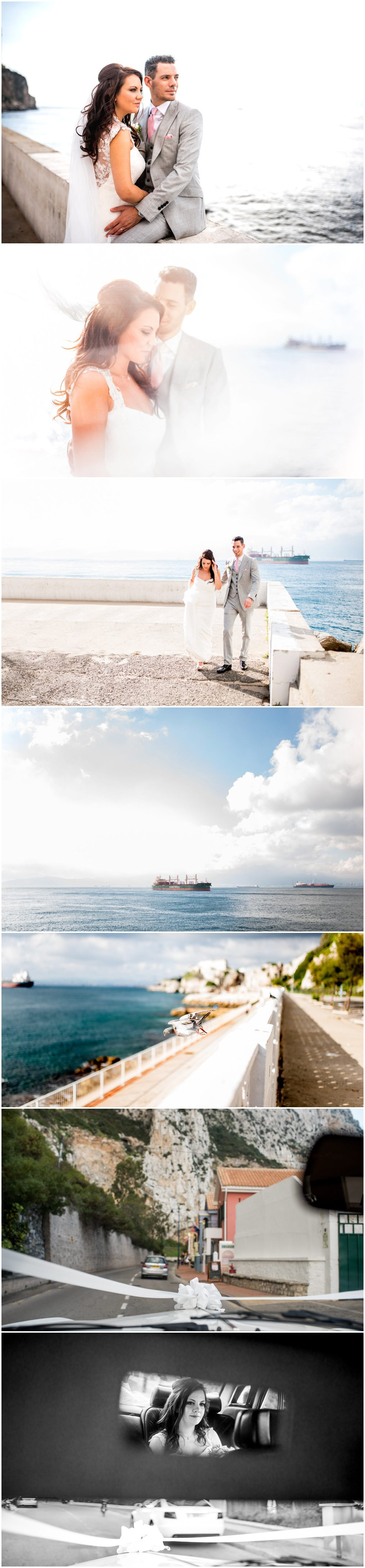 Tim and Zoe's destination wedding in Gibraltar on the Sunborn super yacht, grey and pink theme with ceremony at St Mary The Crowned Cathedral, photos by Lisa Carpenter Photography, West Midlands and Birmingham based destination wedding photographer