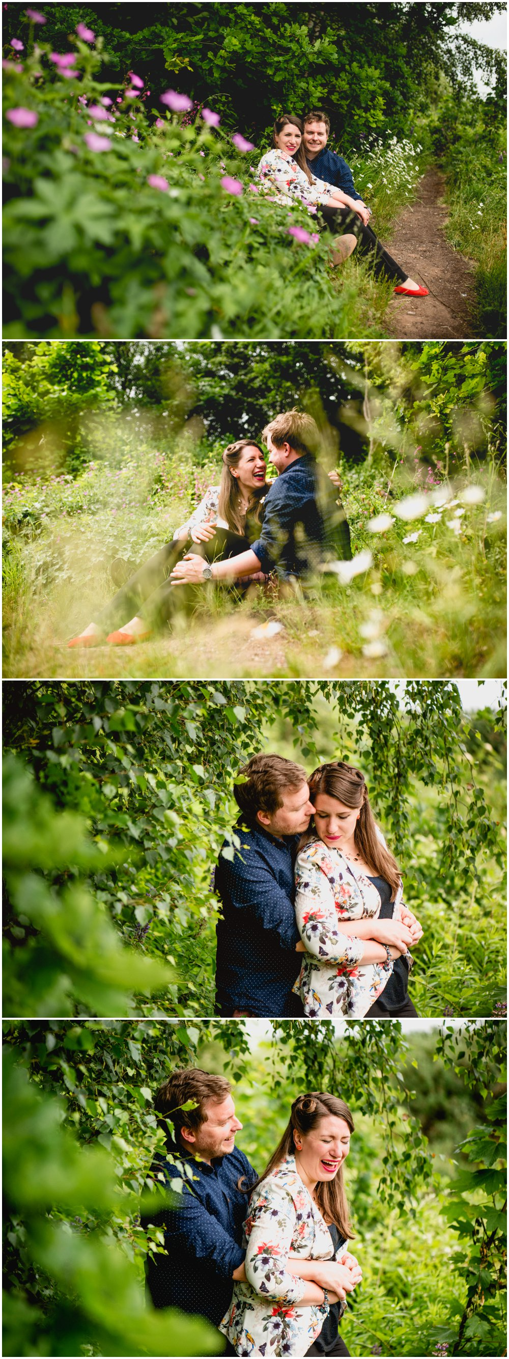 Bond Company engagement shoot in Digbeth with Johanna and Rich , canal side, urban, graffiti, countryside by Lisa Carpenter Photography, West Midlands and Birmingham based photographer