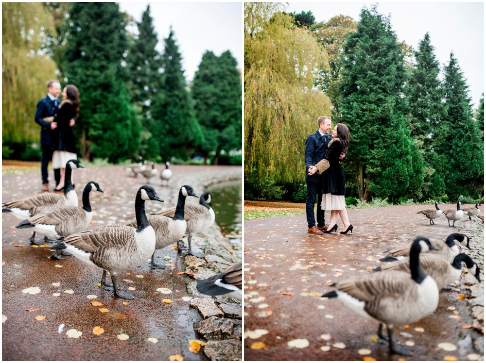 Laura and Nick - Engagement shoot in West Park, Wolverhampton ahead of their Pendrell Hall Wedding, photos by West Midlands and Birmingham based wedding photographer Lisa Carpenter Photography