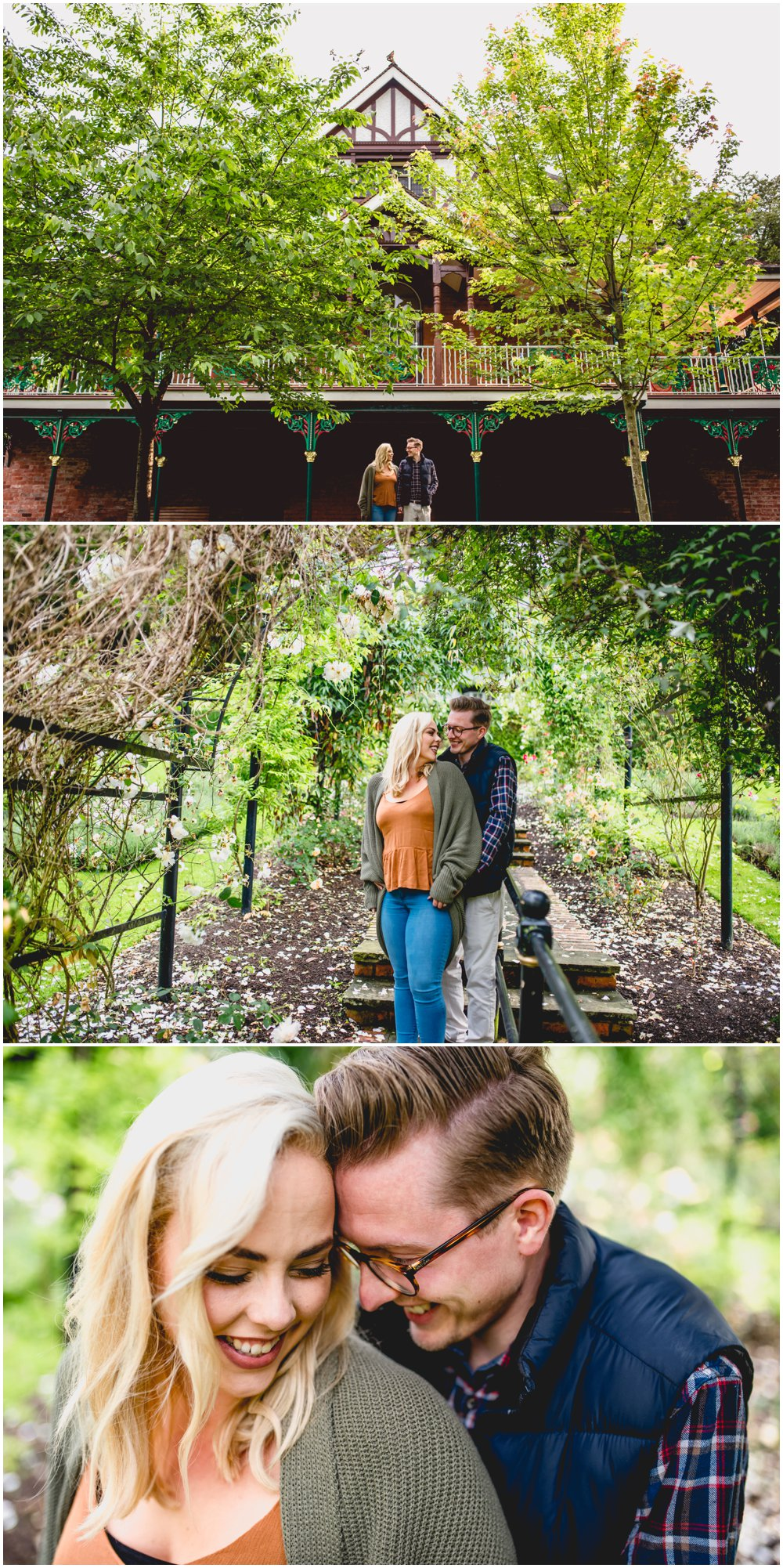 Beau and Phil's Engagement Shoot at Walsall Arboretum by West Midlands, Birmingham and Sutton Coldfield Wedding Photographer, Lisa Carpenter Photography