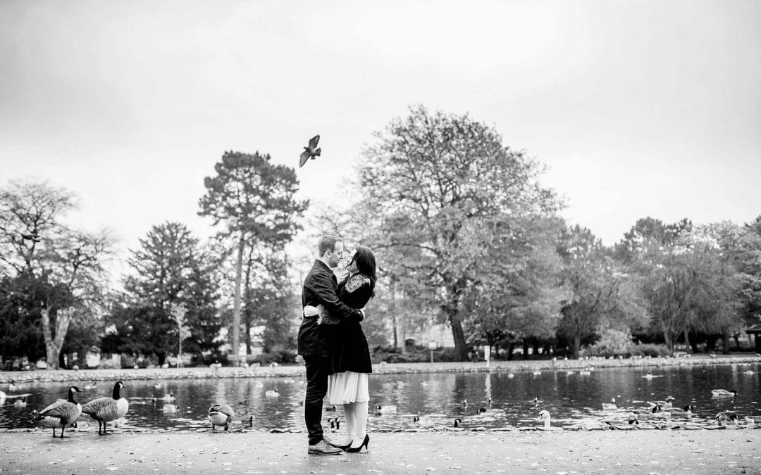 Laura and Nick's West Park Engagement Shoot