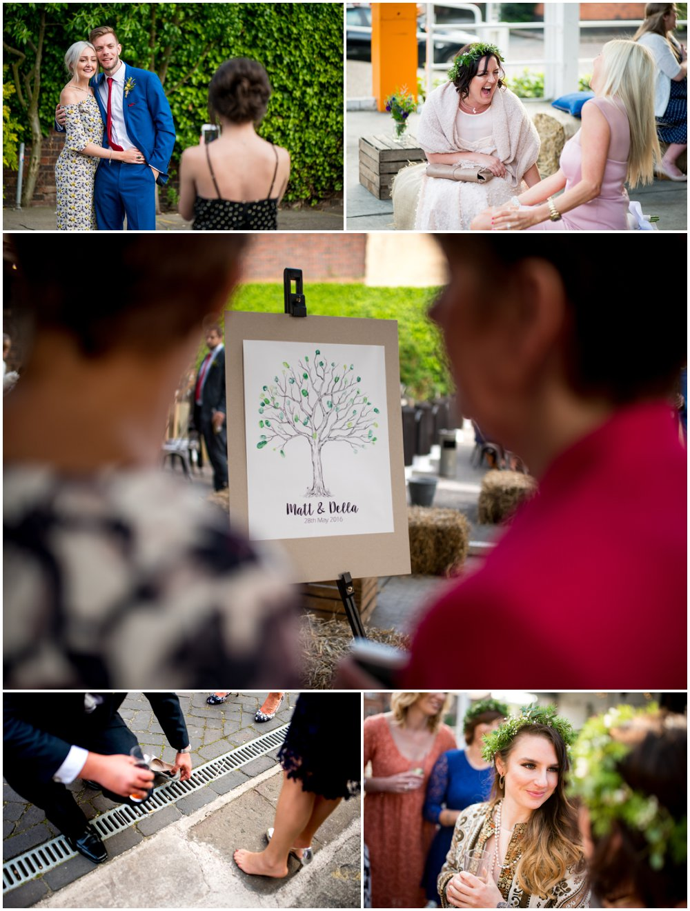 Matt and Della's alternative, relaxed wedding at The Bond Company, Digbeth, Birmingham by Lisa Carpenter Photography, West Midlands, Birmingham based wedding photographer.