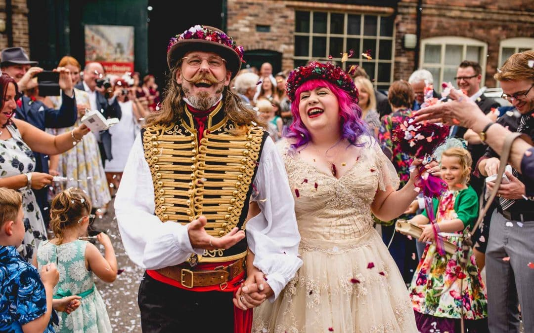 Amazing Enginuity Steam Punk Wedding Extravaganza with Fay and Michael !