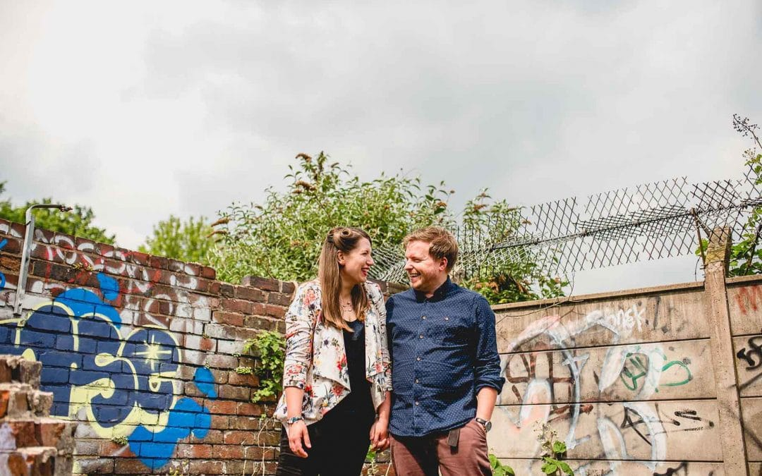 Johanna and Rich's Digbeth Engagement Shoot