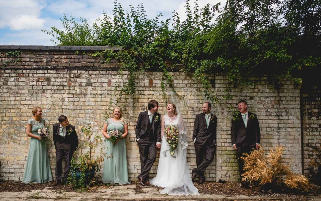 Lindsay and Simon's Summer Garden Wedding