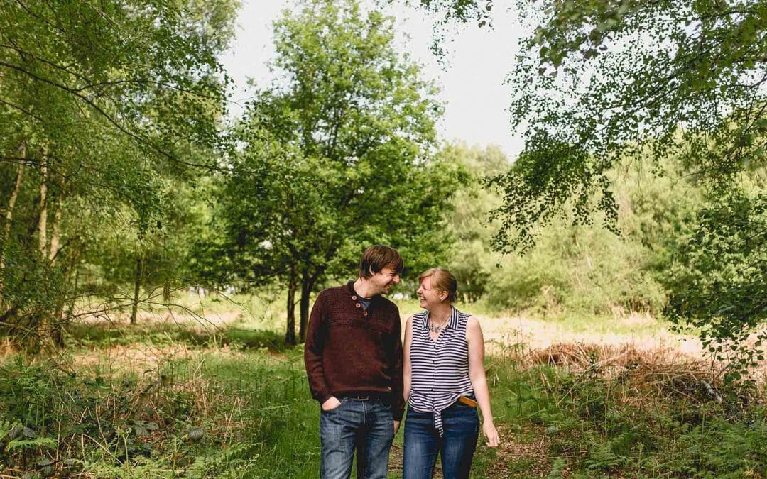 Lindsay and Simon's Sutton Park Engagement Shoot
