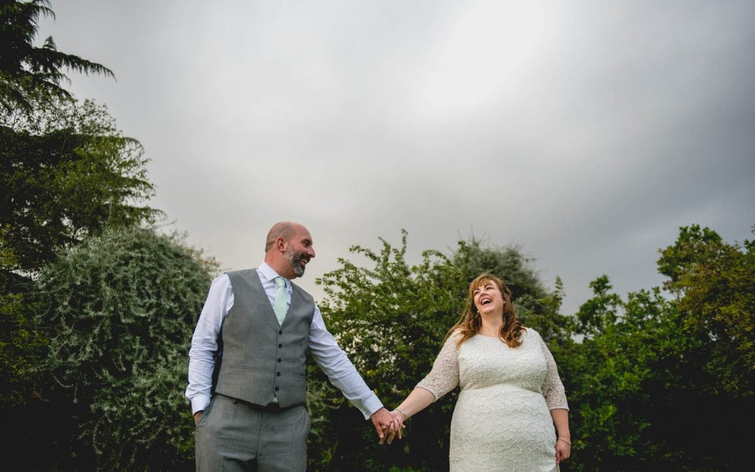 Sam and Lee – A Country Pub Wedding in the Rain