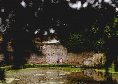 Mark and Caroline's Engagement Shoot at Le Manoir, Oxford