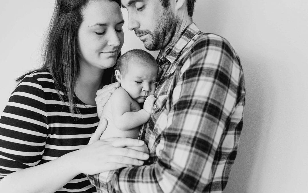 Baby Freddie – Newborn shoot