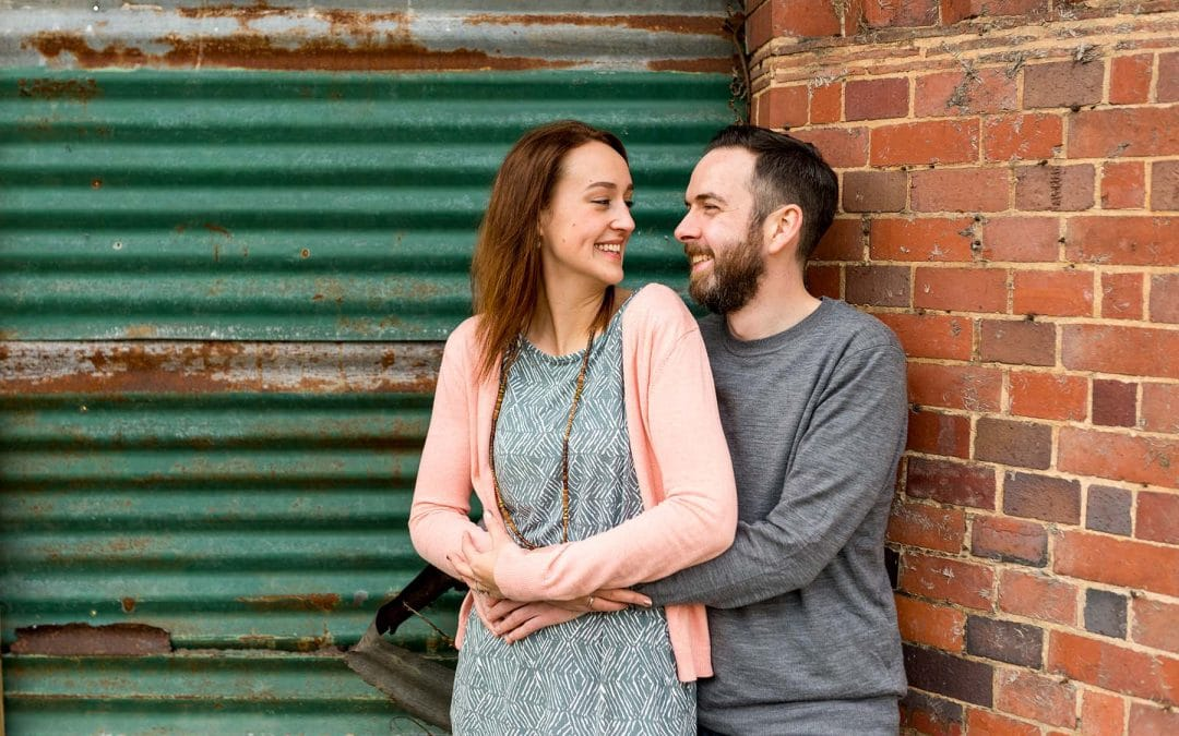 Helen and Dan's Bourneville Engagement Shoot