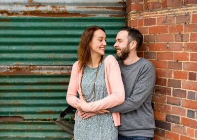 Helen and Dan's Bourneville Engagement Shoot