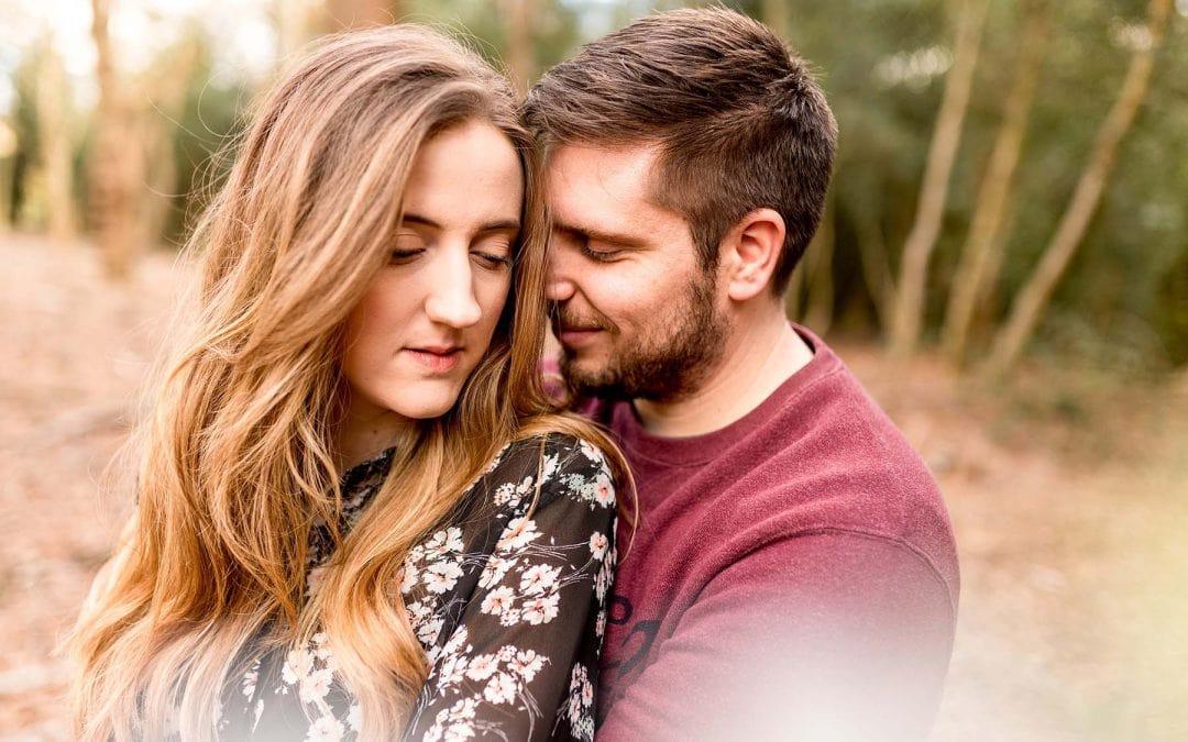 Rachael and Ben's Sutton Coldfield Park Pre-Wedding Shoot