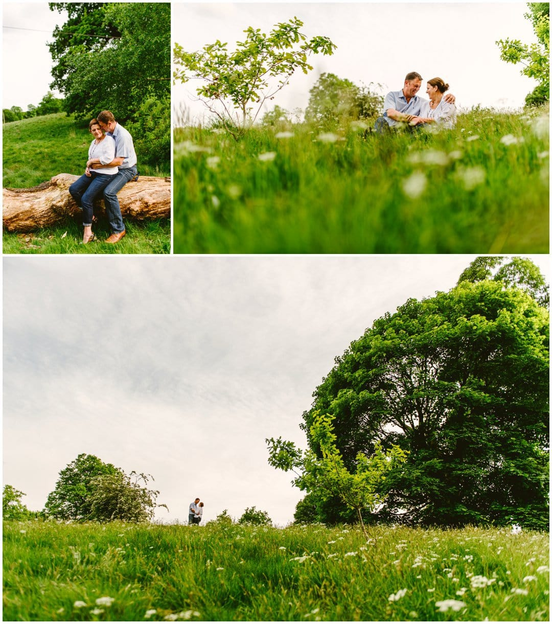 Sarah and Jason's Summertime engagement shoot in Sutton Park, Sutton Coldfield, by West Midlands Wedding Photographer Lisa Carpenter Photography ahead of their summer wedding at Nuthurst Grange