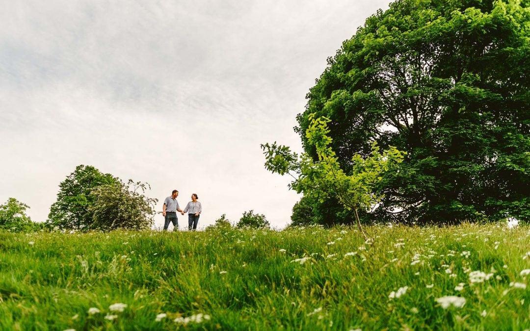Sarah and Jason – Sutton Park Summer Engagement Shoot