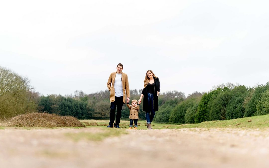 Emily and Andrew's pre-wedding family shoot