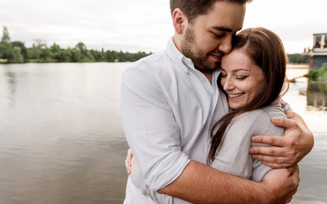 Ffion and Hefin's Engagement Shoot