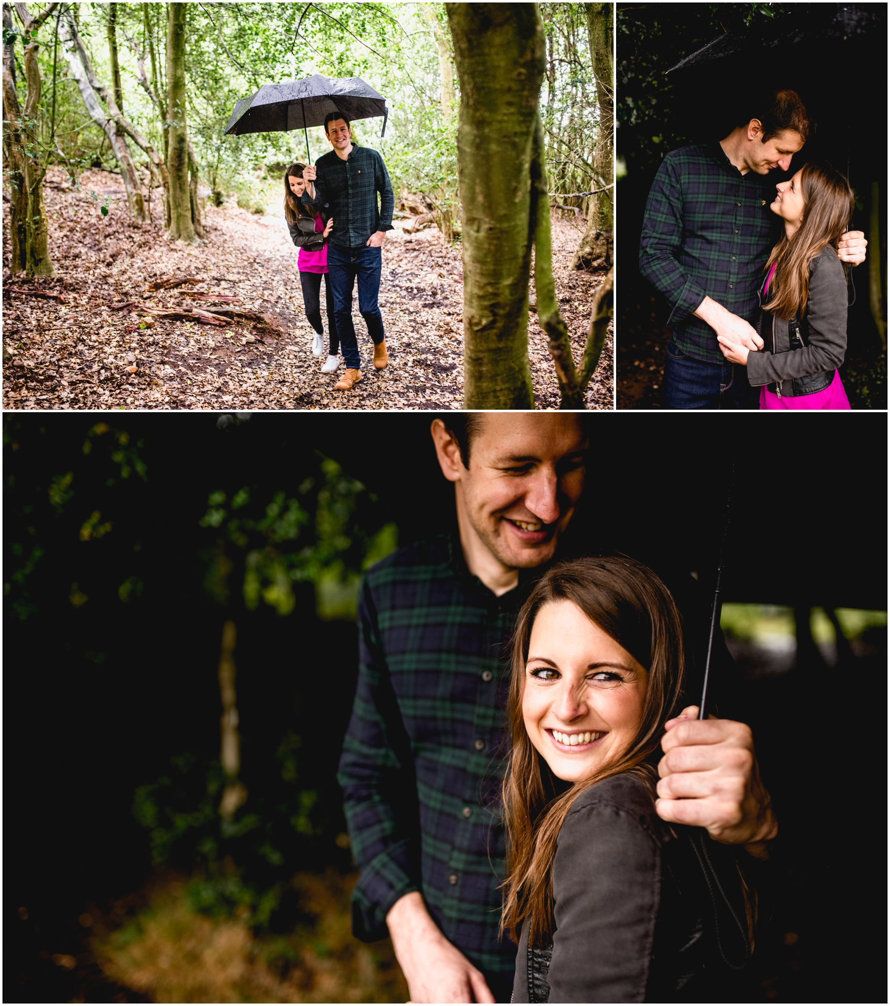 Fiona and Matt Pre Wedding Engagement Shoot in Sutton Park, Sutton Coldfield by West Midlands Wedding Photographer, Lisa Carpenter Photography