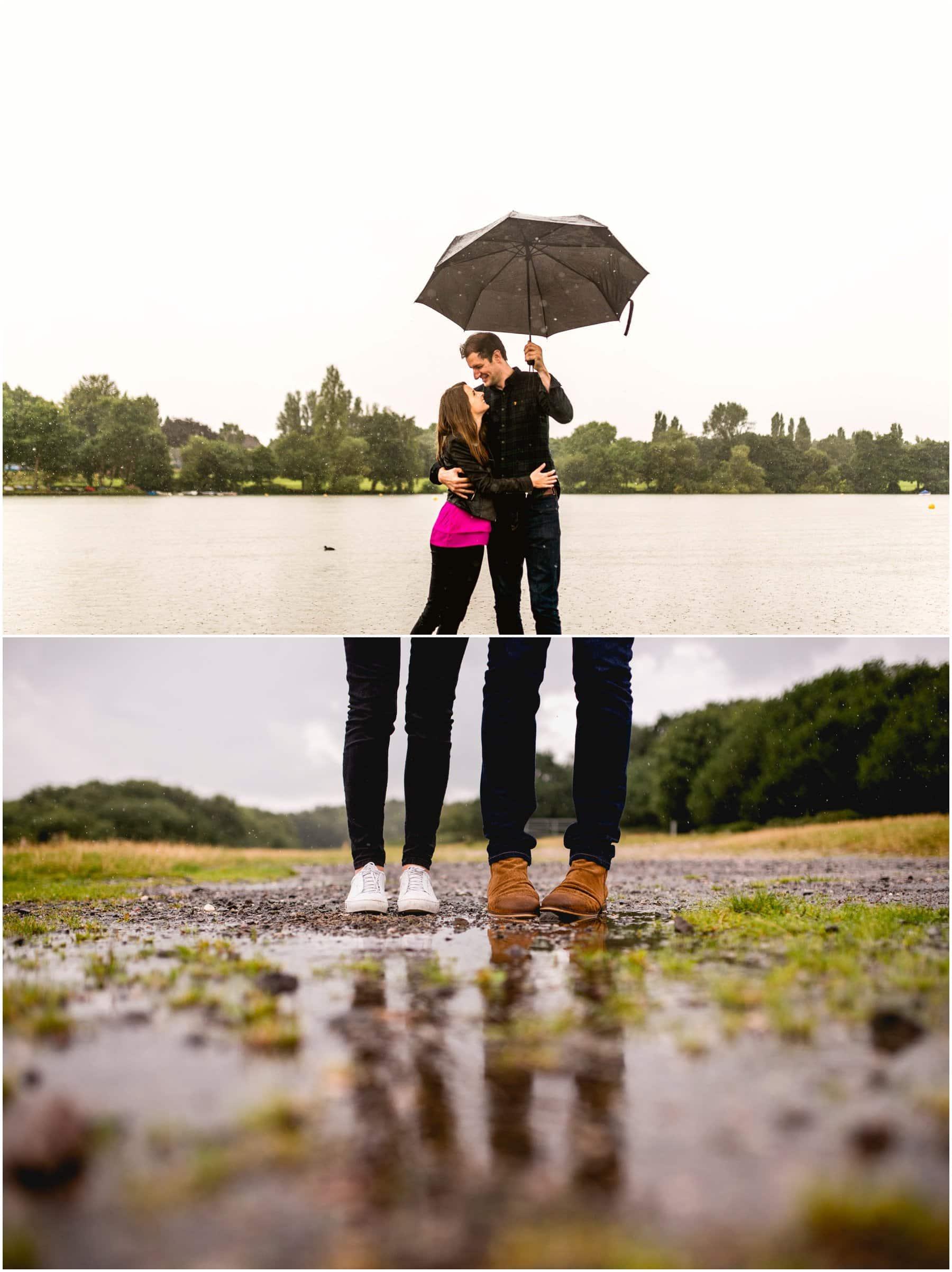Fiona and Matt Pre Wedding Engagement Shoot in Sutton Park, Sutton Coldfield by West Midlands Wedding Photographer, Lisa Carpenter Photography