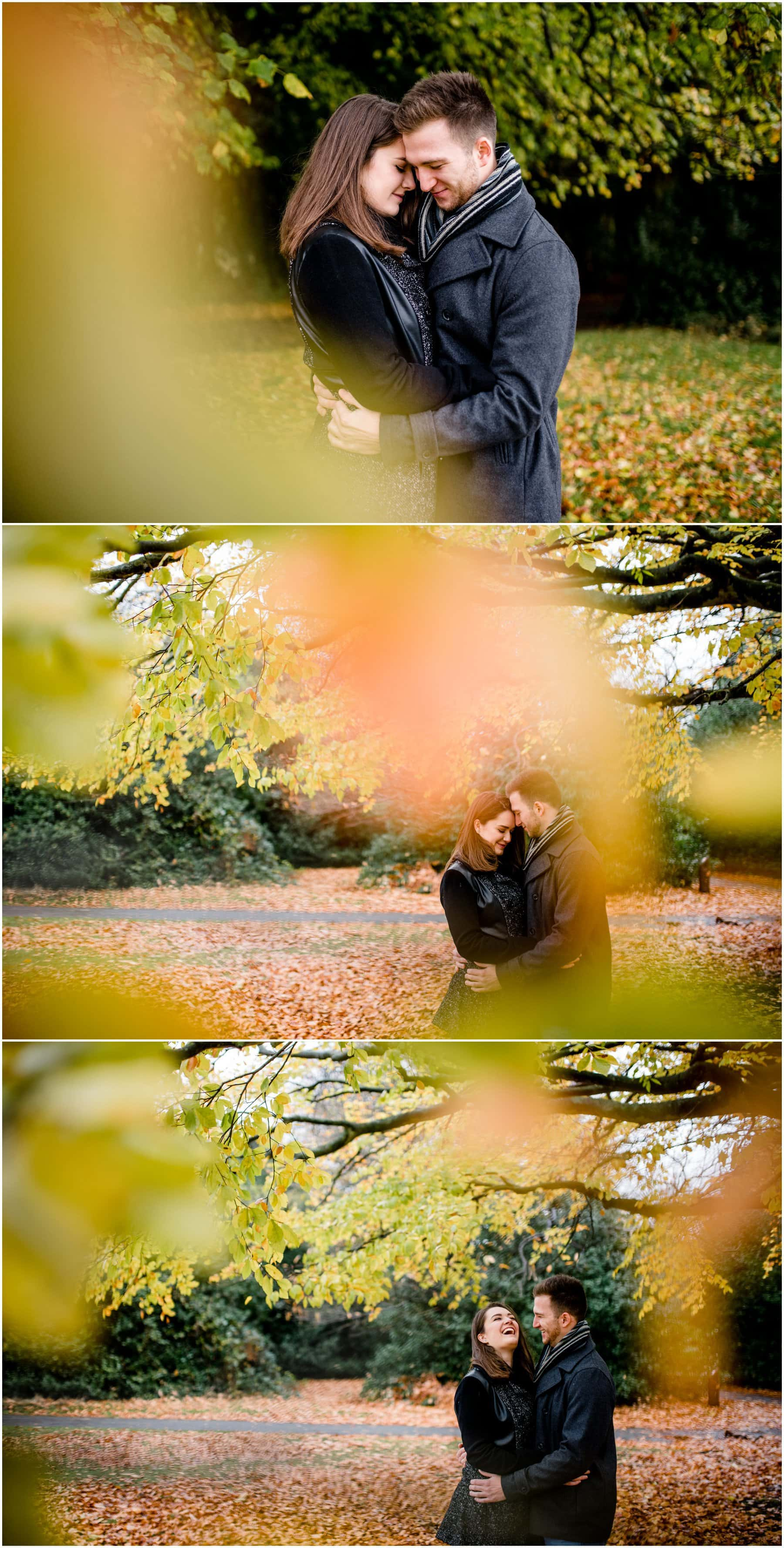 Sutton Coldfield Engagement Session with Lauren and Damien ahead of their wedding at Goldstone Hall, Market Drayton, photos by West Midlands Wedding Photographer Lisa Carpenter Photography.